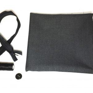 Kits jupe crayon doublée