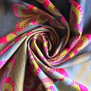 Tissu Coton – fleurs de japon