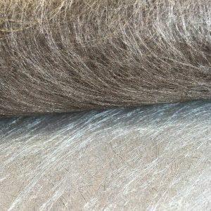 Tissu non tissé – marron / argent