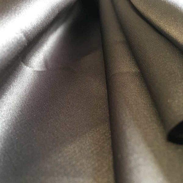 Acheter Tissu Satin uni - Gris