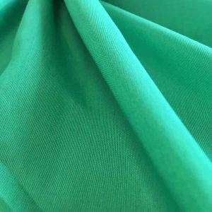 Tissu viscose – vert uni