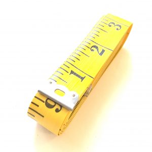 Mètre ruban extra-long, 3 mètres, jaune