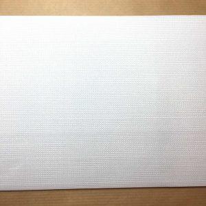 Ruban élastique 15 cm largeur, blanc