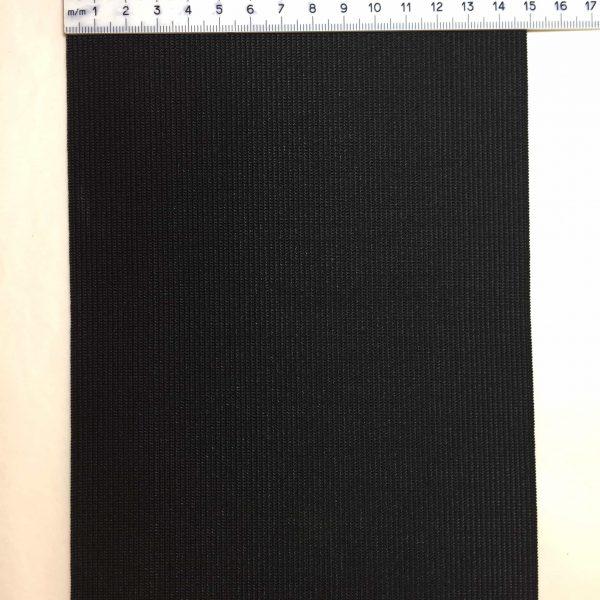 Ruban élastique 15 cm largeur, noir