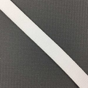 Ruban élastique 11 mm, Blanc