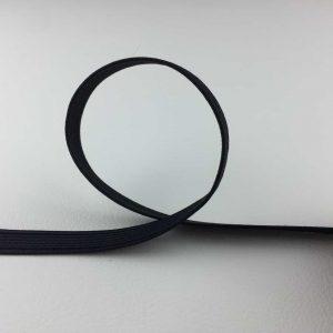 Ruban élastique 10 mm, Noir