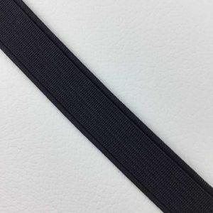 Ruban élastique 15 mm, Noir