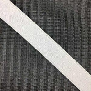 Ruban élastique 20 mm, Blanc