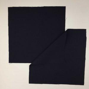 Kit Masque Nuit Fleurie. 3 couches coton