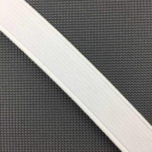 Ruban élastique 15 mm, Blanc