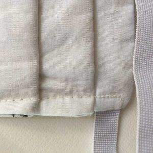 Masque Argenté. 3 couches coton