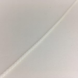 Drisse Polyester Blanche Diamètre 3 mm