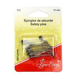 Épingles de sécurité  37 mm – x12