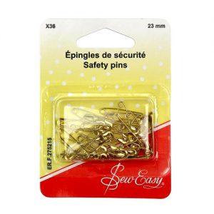 Épingles de sécurité 22 mm – x36