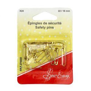Assortiment Épingles de sécurité x24 22-18 mm
