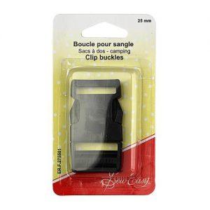 Boucle pour sangle sac à dos – 25 mm