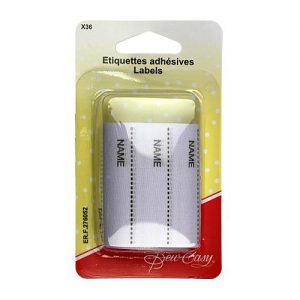 Etiquettes adhésives x36
