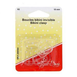 Boucles bikini invisible X2 18 mm