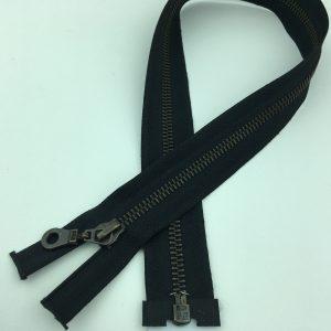 Fermeture éclair séparable métal – 50 cm