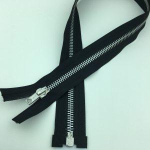 Fermeture éclair séparable métal – 60 cm