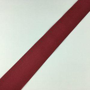 Ruban gros grain 38 mm – Bordeaux