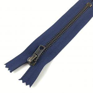 Fermeture éclair pour jeans- 12 cm