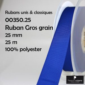Ruban Gros grain 25mm