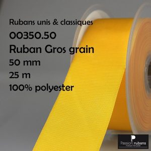 Ruban Gros grain 50mm