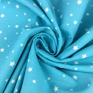 Tissu coton étoiles