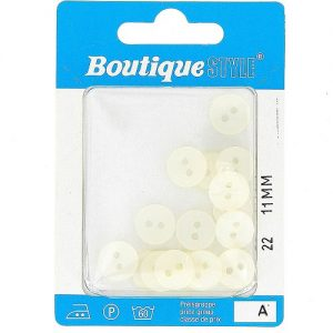 Carte 17 boutons 11 mm code prix A -pos  22