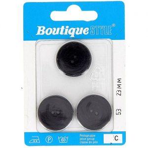 Carte 3 boutons 23mm code prix C -pos  53