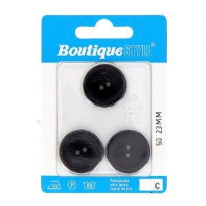 Carte 3 boutons 23mm code prix C -pos  50
