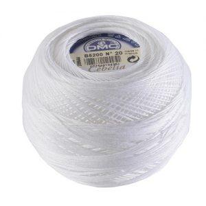Fil crochet d'Ecosse Grosseur 30Boite 10 pelotes 50 g Cébélia 530 m