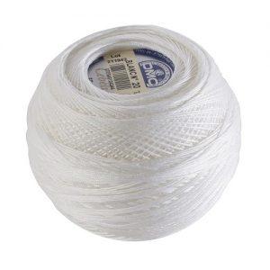 Fil crochet d'Ecosse Grosseur 40 Boite 10 pelotes 50 g Cébélia 665 m