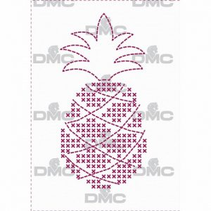 """Feuille magique """"ananas"""" Custom By Me"""