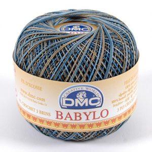 10 pelotes 50 g fil crochet multicolore babylo 500 m