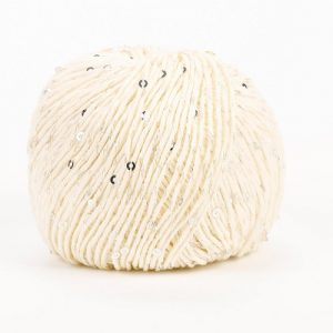 Boite 10 pelotes 50 g coton natura glam 100m