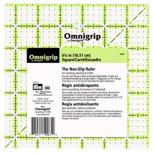 Omnigrip règle antidérapante 6,5 x 6,5 inch