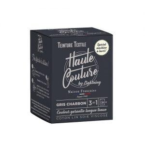 Teinture textile haute couture gris charbon – 350g