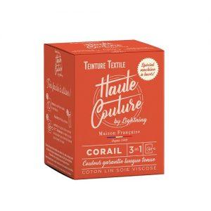 Teinture textile haute couture corail – 350g