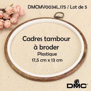 Cadres x5  tambour 17,5 x13