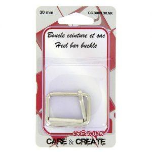 Boucle ceinture et sac 30 mm