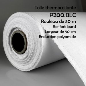 Renfort thermocollant lourd larg.90
