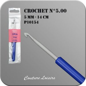 Crochet – 14cm – n°5.00