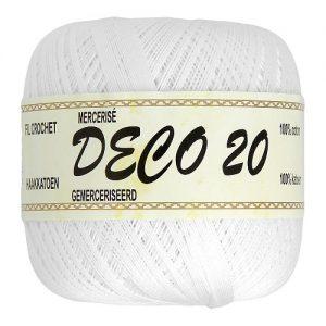 6 pelotes 50 gr – 100% coton à crocheter DECO 20