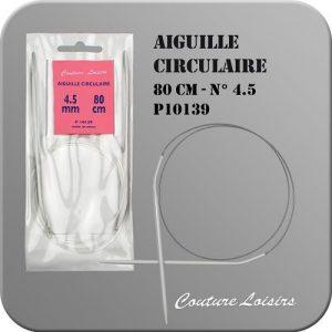 Aiguille circulaire – 80 cm – n° 4.50