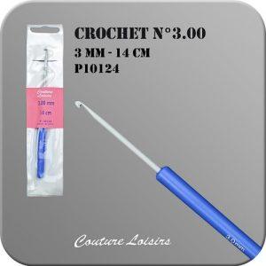 Crochet – 14cm – n° 3.00