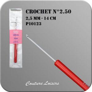 Crochet – 14cm – n° 2.50