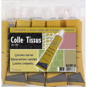 Tube colle textile 30 ml – vrac