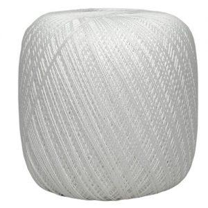 Fil à coudre / fil à crocheter 10 pelotes cablé n° 12 – 50 gr -Ispe 100% coton